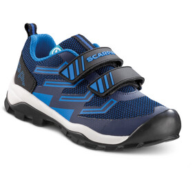 Scarpa Hook & Loop Shoes Kids navy/turqouise
